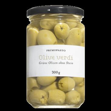 Grüne Oliven ohne Stein 300 g