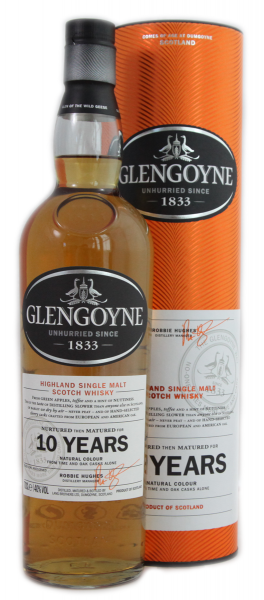 Glengoyne 10 Years 40 % 0,7 l Highland S.M.Whisky