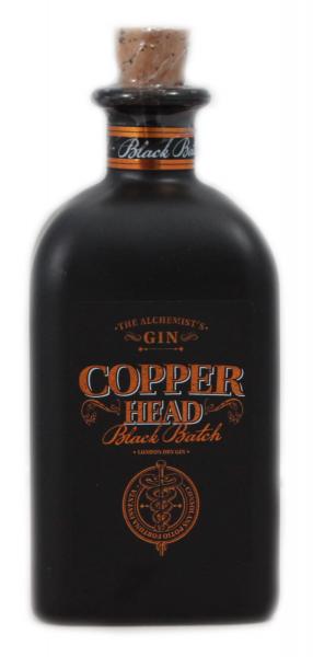 Copperhead Black Batch London dry Gin 42% 0,5l