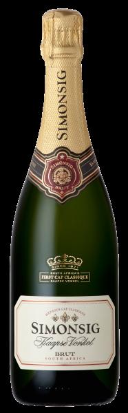 Simonsig Sparkling Wine Kaapse Vonkel Brut 0,75 l