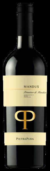 Mandus Primitivo di Manduria 2016 0,75 l