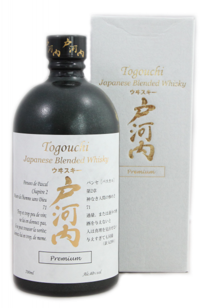 Togouchi Premium Japanese Blended Whiskey 40% 0,5l