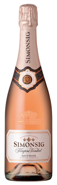 Kaapse Vonkel Brut Rose Sparkling Wine 0,75 l