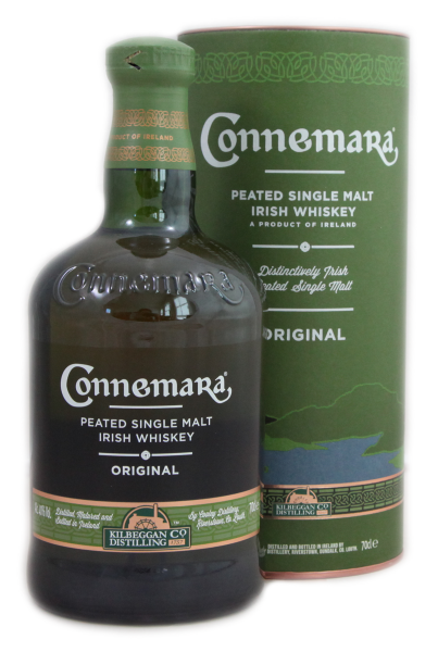 Connemara Peated Irish Single Malt Whiskey 40 % 0,7 l