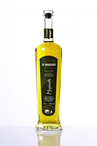 Morelli Grappa Moscato Riserva 40 % 0,7 l