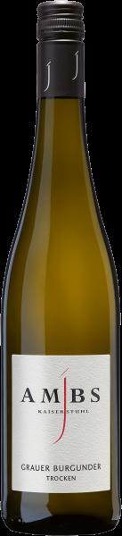 Weingut Ambs Grauburgunder trocken 2018 0,75 l