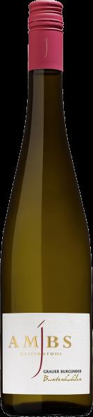 Weingut Ambs Grauer Burgunder Buntenhahlen Kaiserstuhl 2017 0,75l