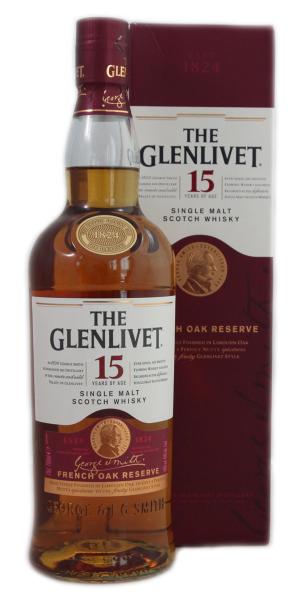 Glenlivet 15 Y Old French Oak Reserve Speyside 0,7 l