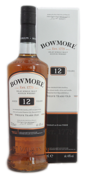 Bowmore 12 Years Islay Single Malt.Whiskey 40 % 0,7 l