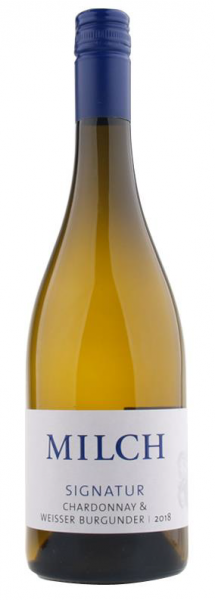 Weingut Milch Signatur Chardonnay/Weißburgunder 2018 0,75l