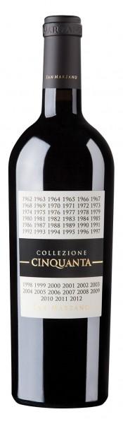 San Marzano Collezione 50 Vino Rosso 2012 0,75l