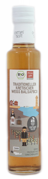 Kretonischer Weisser Balsamico BIO 0,25l