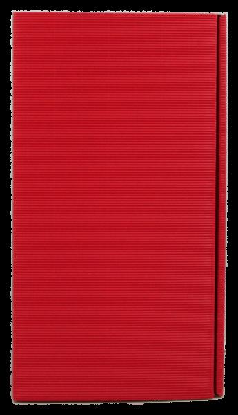 2-er Geschenkkarton Welle rot