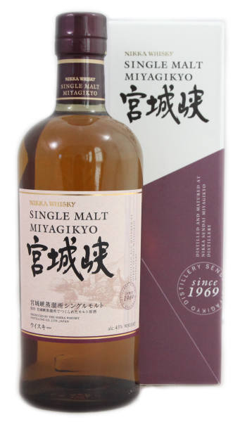 Nikka Whisky Miyagikyo Single Malt 0,7l 45%