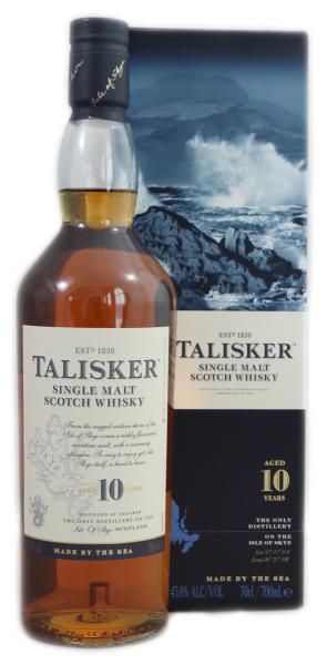 Talisker 10Jahre Single Malt Scotch Whisky 0,7l