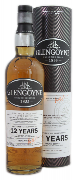 Glengoyne 12 Years 43 % 0,7 l Highland Singel Malt Whisky