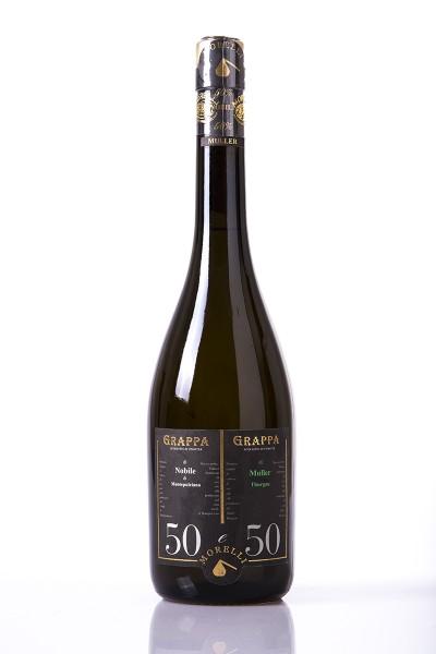Morelli Grappa 50-50 Bianco 0,7 l