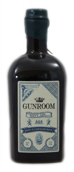 Gunroom Navy Gin 57% 0,5 l