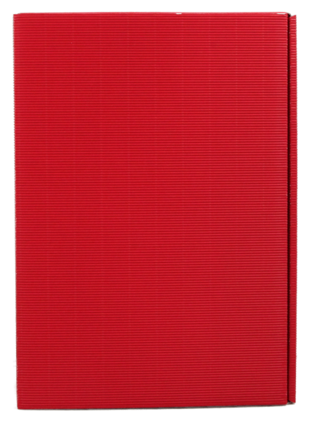 3-er Geschenkkarton Welle rot